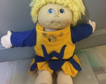 "The original Doll Baby 19"" 1984 MN Thomas Cabbage Patch  Blonde Hair"