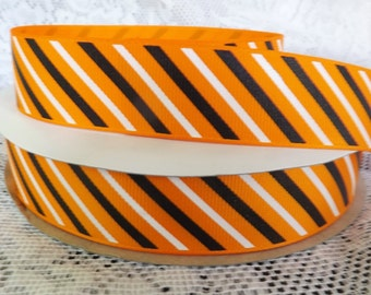 Halloween ribbon 1 in Halloween striped ribbon