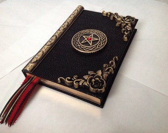 Hand crafted Book of shadows journal