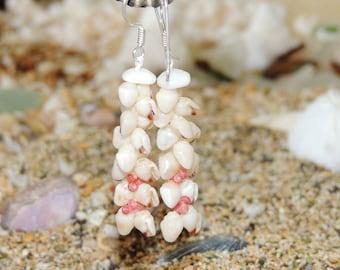 Momi & Kahelelani shell earrings /Niihau shell earrings
