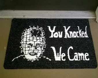 Hellraiser Welcome Mat