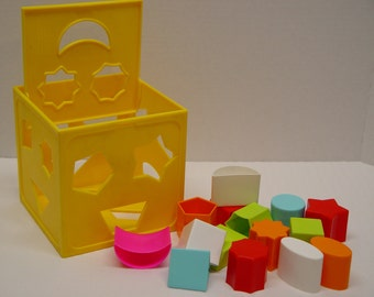 Form Fitter Toy, Child Guidance Toy, Educational Toy, Learning Toy