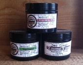Natural Organic Deodorant Cream- 2 oz - 100% VEGAN - Really WORKS / Aluminum paraben FREE - Choose your Scent