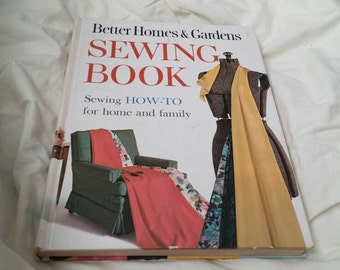 On Sale Better Homes and Gardens Sewing How-To Book Hardback 1961 Craft Book for Sewing and Crafting