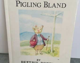 Vintage The Tale of Pigling Bland y Beatrix Potter