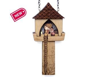 Rapunzel Necklace.