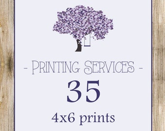 Printing Services - 35 - 4x6's Prints Only