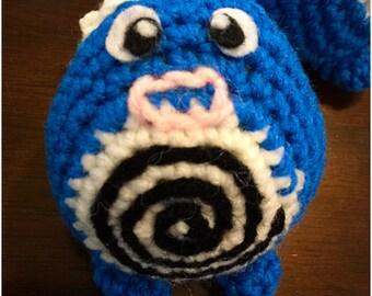 Crochet pokemon inspired poliwag