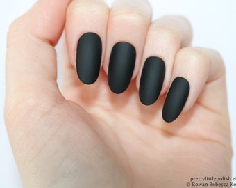 Matte white coffin nails nail designs nail art nails matte black oval nails nail designs nail art nails stiletto nails prinsesfo Image collections