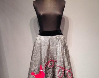Vintage Puddle 50s Skirt