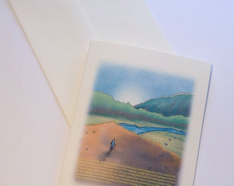 """Richard Dawkins Greeting Card   """"...the lucky ones..."""""""