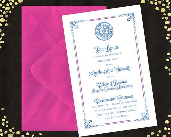 college graduation invitations announcements bachelor u0026 39 s
