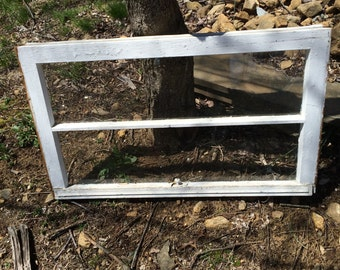 Small Vintage Rustic Antique 2 Pane Window Frames