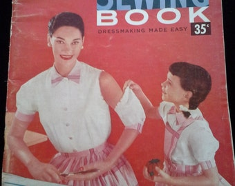 50s McCall's Sewing Book Dressmaking Made Easy