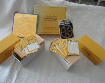 Vintage Trivial Pursuit Genus 2 Boxed Card Set Game Night Family Game