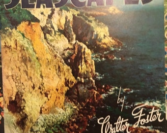How to Draw and Paint Seascapes Vintage book FREE SHIPPING