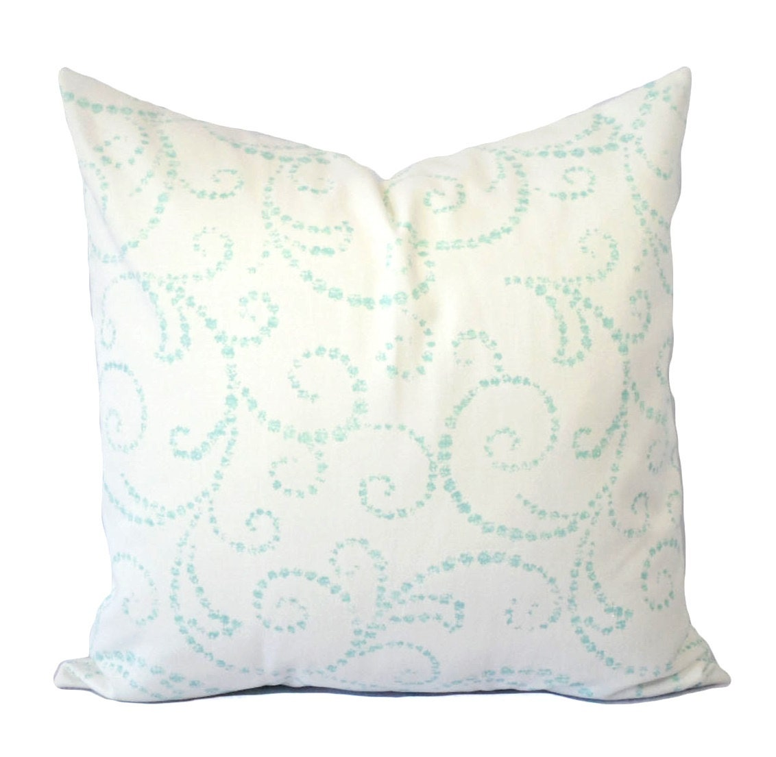 christmas pillows blue and white pillow cover aqua pillow. Black Bedroom Furniture Sets. Home Design Ideas