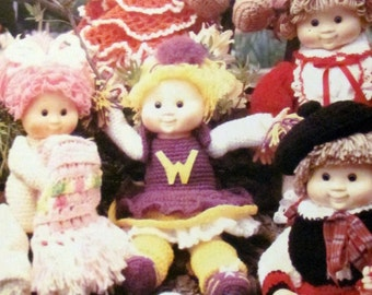 Kids Around The World 24 Sweet Love Kids, Doll Clothes Crochet Patterns and Pets To Crochet, Nativity Set Clothes For 5.5 Dolls