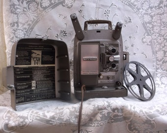Vintage Bell & Howell Projector Model 265A 8mm
