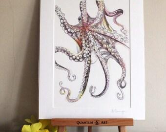 Octopus Giclee Art Print