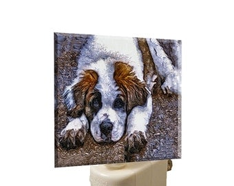 Saint Bernard 'SonTuc' Night Light From Doggylips