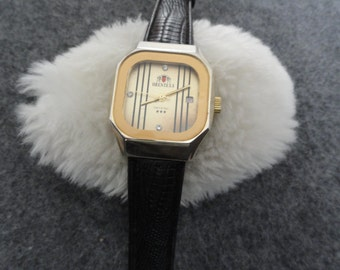 Orentexa Crystal Wind Up Vintage Men's Watch
