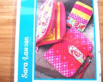 Bag Purse Sewing Pattern - Greenbacks Wallet Trio Sewing Pattern - Sew Sweetness - Printed Sewing Pattern
