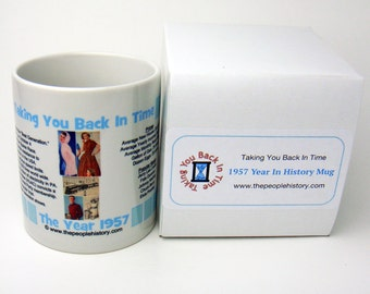 1957 Taking You Back In Time Coffee Mug