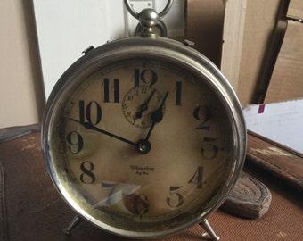 Cool Steampunk Working Antique Westclox Big Ben Steel Alarm Clock