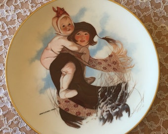 Winter Winds Collectible Plate by Sarah S. Stilwell Weber* Shipping Included