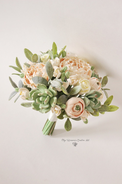 Cost Of Wedding Flowers 2017 : Alternative wedding bouquet keepsake peach