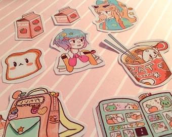 Shojo Life Sticker Pack