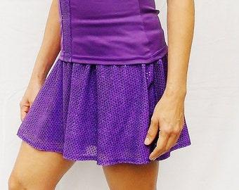 Reserved order; Purple running skirt