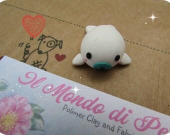 Kawaii White Little Seal Magnet