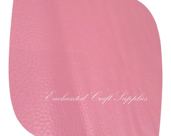 Pink Leatherette Fabric