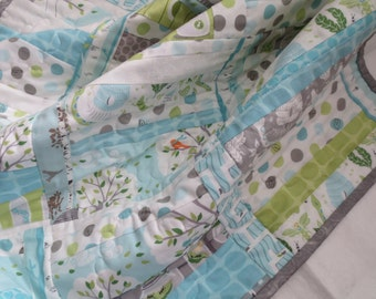 NEW!  Backyard Baby QUILT for Stroller/Car Seat--Ready to Ship