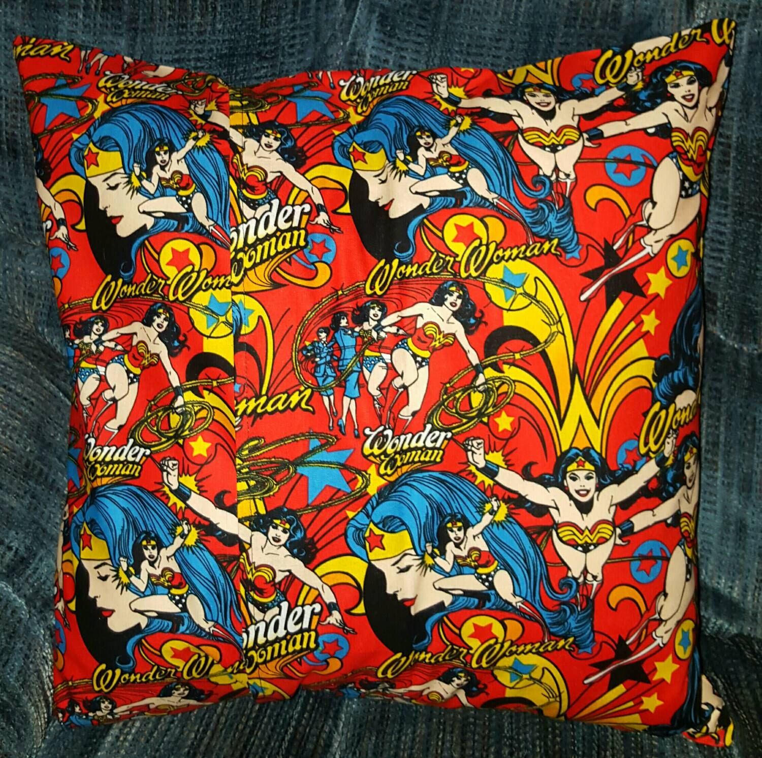 Wonder Woman Pillow Cover