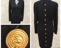 Authentic Vintage Chanel Black Dress I.Magnin