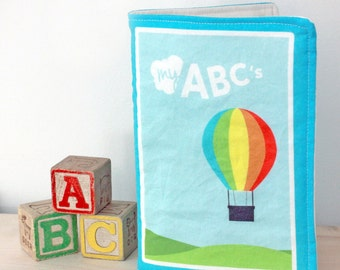 Fabric Book | Baby Quiet Book | ABC's Book