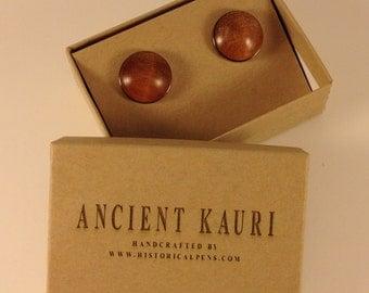 New Zealand Ancient Kauri Cufflinks