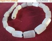 8mm Selenite Beads strand - SB15