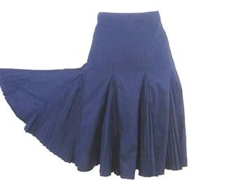 FULL CIRCLE SKIRT, Pleated skirt, dancing skirt, womens clothing, hip skirt, circle skirt, vintage pleated skirt, twirl skirt, retro skirt
