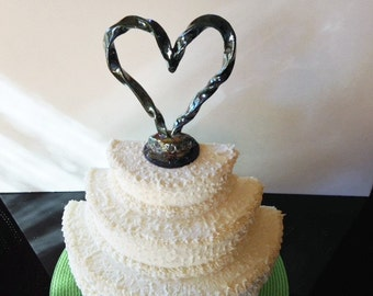 RAKU Wedding Cake Topper