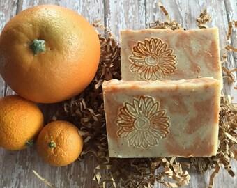 Exfoliating Citrus Cold Process Soap