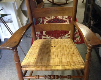 American Primitive Style Chair
