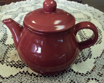 Teapot by Taiwan in Deep Rose Color