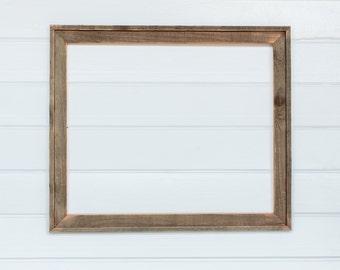"20 x 24  2""    2 piece Barnwood frame"