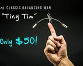 NEW! 'Tiny Tim', handmade Industrial Kinetic Balancing Desk Toy