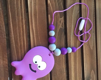 Purple Octopus teether