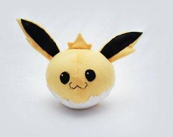 Round Jolteon Plush- Cute Pokemon Doll